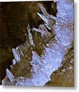 The Crystal Slipper Metal Print