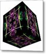 The Cube 14 Metal Print