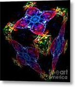 The Cube 4 Metal Print