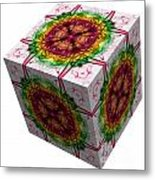 The Cube 5 Metal Print