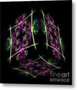 The Cube 7 Metal Print