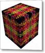 The Cube 8 Metal Print