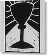 The Cup Metal Print by Barbara St Jean