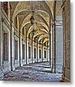 The Curve In Color Metal Print