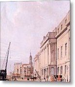 The Custom House, From London Metal Print