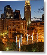 The Custom House Of Boston Metal Print