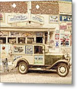 The Daily Delivery Metal Print