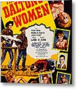 The Daltons Women, Lash Larue, Far Metal Print