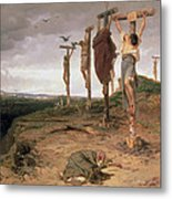 The Damned Field Execution Place In The Roman Empire Metal Print