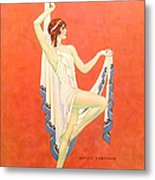 The Dance 1929 1920s Usa Nitza Vernille Metal Print by The Advertising Archives