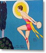 The Dance  1929 1920s Usa Ruby Keeler Metal Print