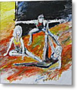 The Dance Audition Metal Print
