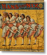 The Dancing Chicks Metal Print