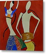 The Dancing Lady Metal Print