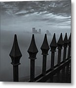 The Dark Night Metal Print