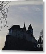 The Dark Side Of The Castle Metal Print