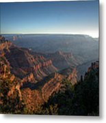 The Day Begins Grand Canyon Metal Print