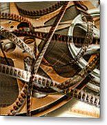 The Days Of Film Metal Print