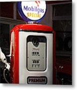 The Days Of Inexpensive Gas Metal Print