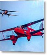 The De Havilland Dh90 Dragonfly Metal Print