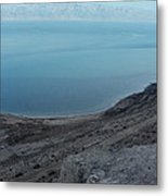 The Dead Sea - Looking At Jordan Metal Print