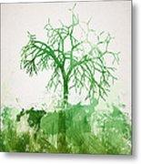 The Dead Tree Metal Print