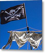 The Death Flag Metal Print by Garry Gay
