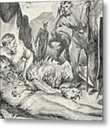 The Death Of Beowulf Metal Print