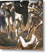 The Death Of Medusa II, 1882 Metal Print