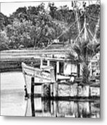 The Debbie-john Shrimp Boat Metal Print