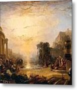 The Decline Of The Carthaginian Empire Metal Print