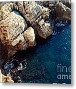 The Deep Blue Sea Metal Print