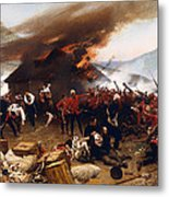 The Defence Of Rorke's Drift 1879 Metal Print