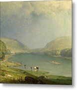 The Delaware Water Gap Metal Print