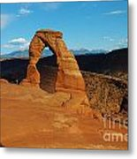 The Delicate Arch 10 Metal Print