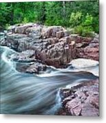 The Dells Of The Eau Claire River  Metal Print