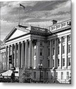 The Department Of Treasury Metal Print