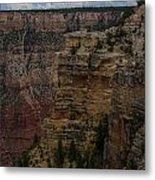 The Depths Of The Canyons Metal Print