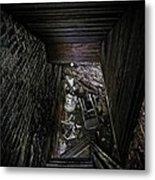 The Descent Metal Print