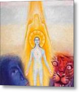 The Descent Of The Truth-consviousness Metal Print