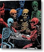 The Devil And Friends Metal Print