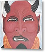 The Devil Is The Detail Metal Print