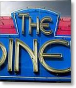 The Diner Metal Print by Randall Weidner