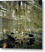 The Dining Room Of Ara Gallant's Apartment Metal Print