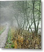 The Disappearing Man - Wolfscote Dale Metal Print