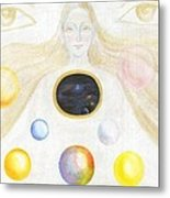 The Discovery Of The Cosmic Spirit Metal Print