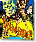 The Disembodied, Us Poster, Bottom Left Metal Print