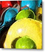 The Dishes Metal Print