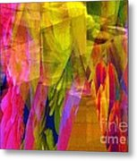 The Disturbance Of Memory Metal Print