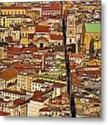 The Divided City Metal Print